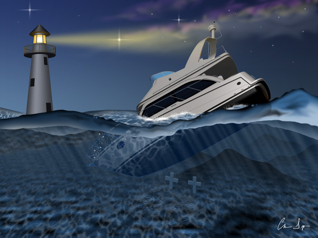 Off the Coast of Carolina: Digital Art by Christopher Spicer