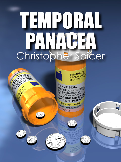 Temporal Panacea: Lyric Poetry Collection by Christopher Spicer - Book Cover